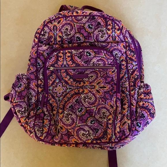 Vera Bradley XL campus backpack dream tapestry